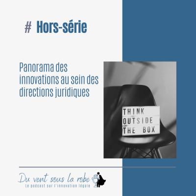 Hors-série- Panorama des innovations au sein des directions juridiques cover