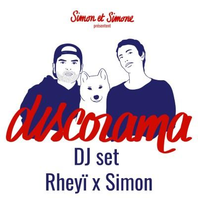 Discorama #71 - DJ set techno sur vinyl Rheyï x Simon cover