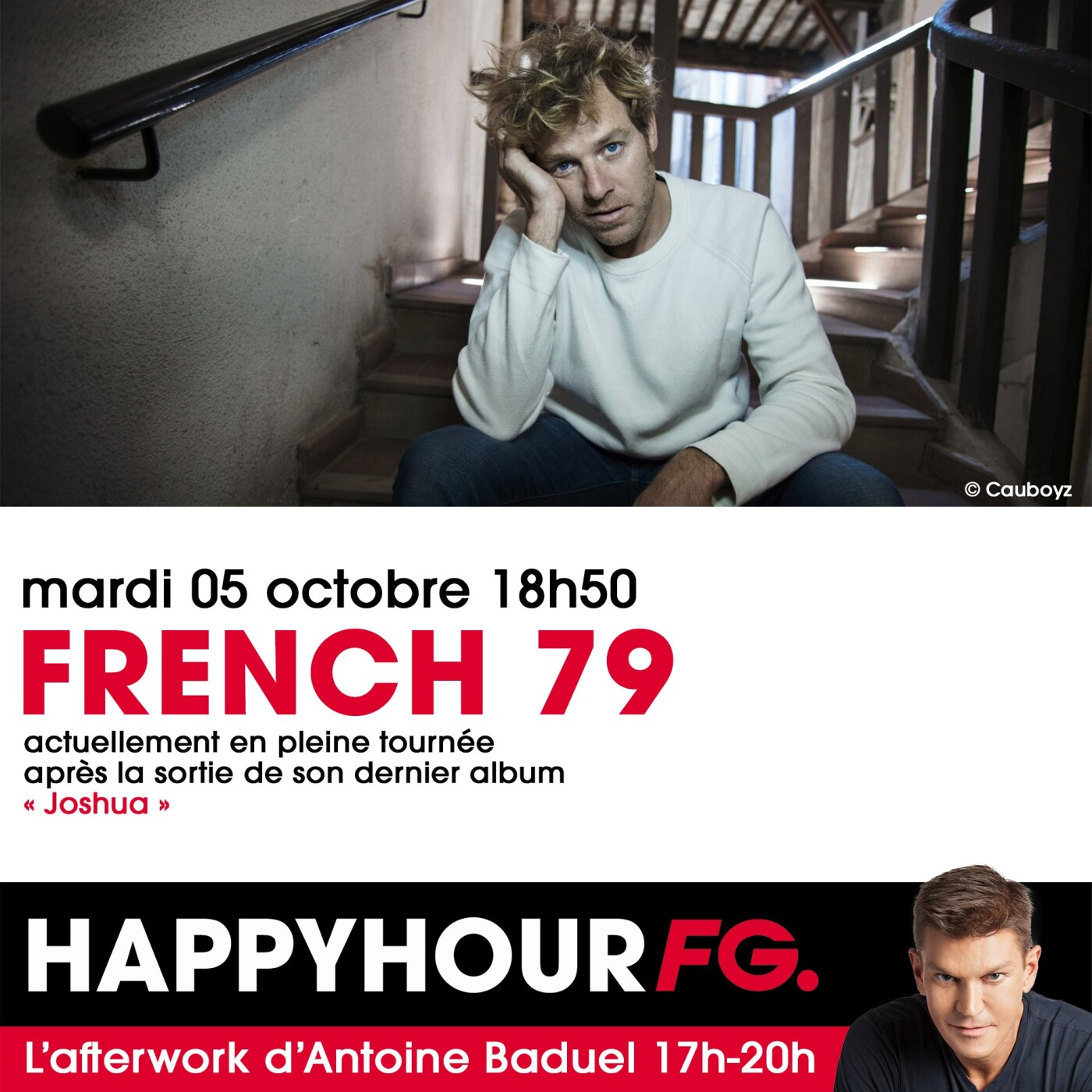 HAPPY HOUR INTERVIEW : FRENCH 79