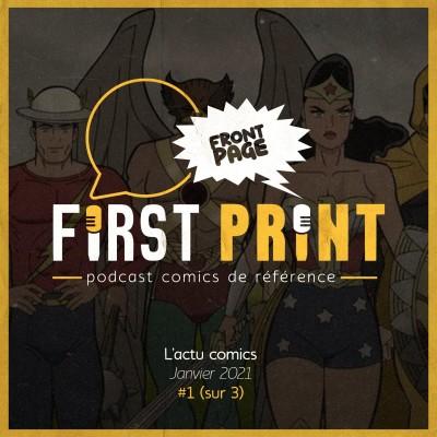 Front Page : l'actualité comics de janvier 2021 #1 (sur 3) cover