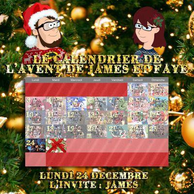 Calendrier de l'avent 24 décembre : James cover