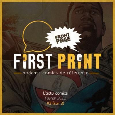 Front Page : l'actualité comics de février 2021 #3 (sur 3) ! cover