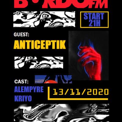 La Grosse Emission Electro avec  Anticeptik Kaotek ! cover