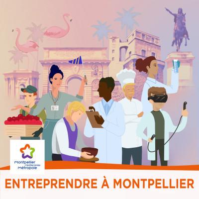 Entreprendre à Montpellier cover