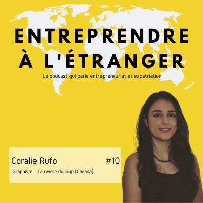 Entreprendre à l'étranger - Coralie Rufo - Graphiste - Canada cover