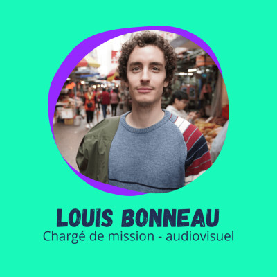 Le globe-trotter de l'Audiovisuel - Louis Bonneau, Chargé de mission, audiovisuel cover