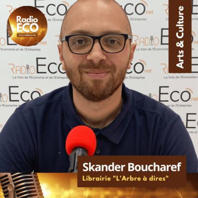 "Skander Boucharef I Librairie ""L'Arbre à dires"" cover"