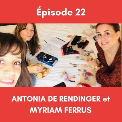 (22) Autour du THEATRE (partie 1) - avec Antonia De Rendinger et Myriam Ferrus. cover