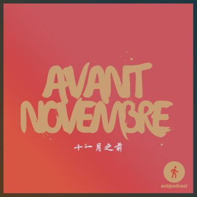 Antipodcast : avant-novembre cover