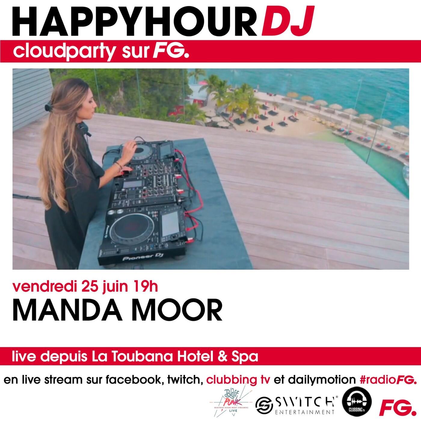 HAPPY HOUR DJ : MANDA MOOR