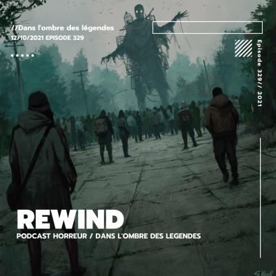 Dans l'ombre des légendes-329 Rewind cover