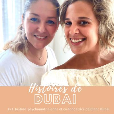#21 Justine Videau : psychomotricienne et co-fondatrice de Blanc Dubai cover