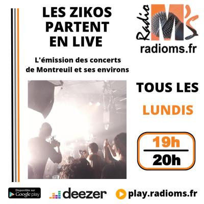 Les Zikos partent en Live #1 cover