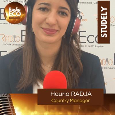 Houria RADJA I Country Manager Studely Algérie cover