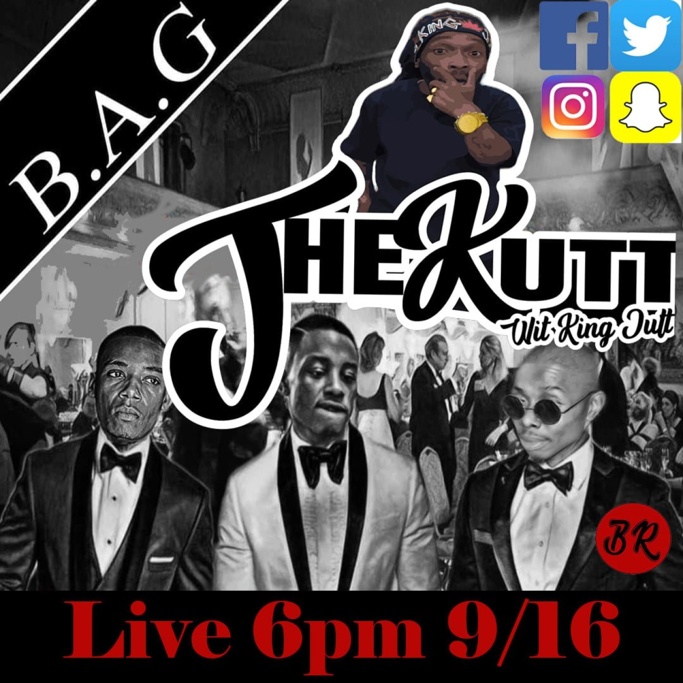 The Kutt Wit King Jutt Episode 8 wit Guest B.A.G.(Black And Gifted)