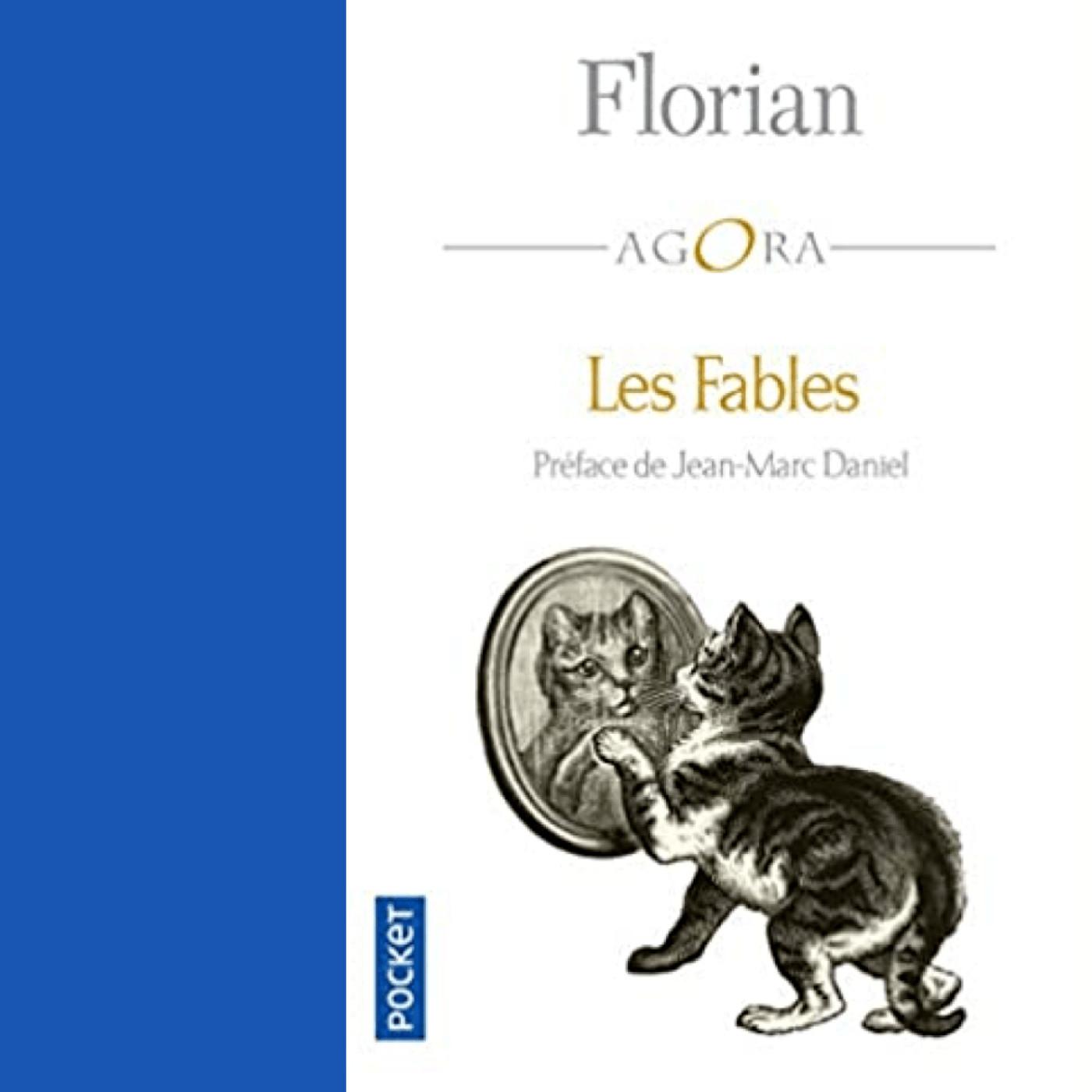 """La guenon, le singe et la noix ( extrait des """"Fables"""" de Jean-Pierre Claris de FLORIAN )"""