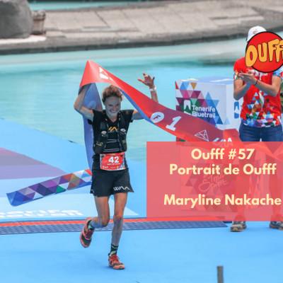 #59 - Portrait de Oufff - Maryline Nakache, Championne de France de Trail cover