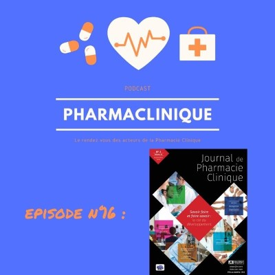 Episode 16  : présentation du Journal de Pharmacie Clinique cover