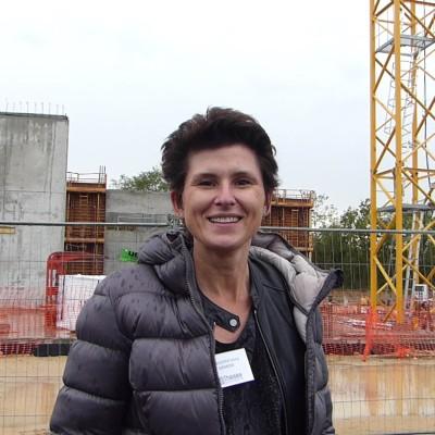 Doris Birkhofer (Siemens), pose de la première pierre de Thésée Datacenter cover