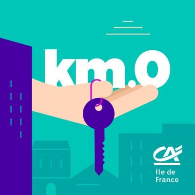 Kilomètre 0, le podcast de l'immobilier francilien cover