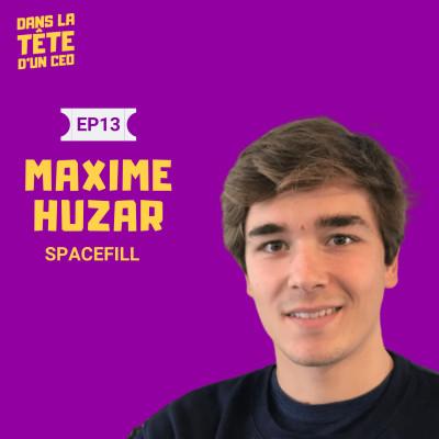 #13 Maxime Huzar (Spacefill) : Entreprendre pendant ses études, le développement de Spacefill et sur l'impact du covid-19 sur la logistique cover