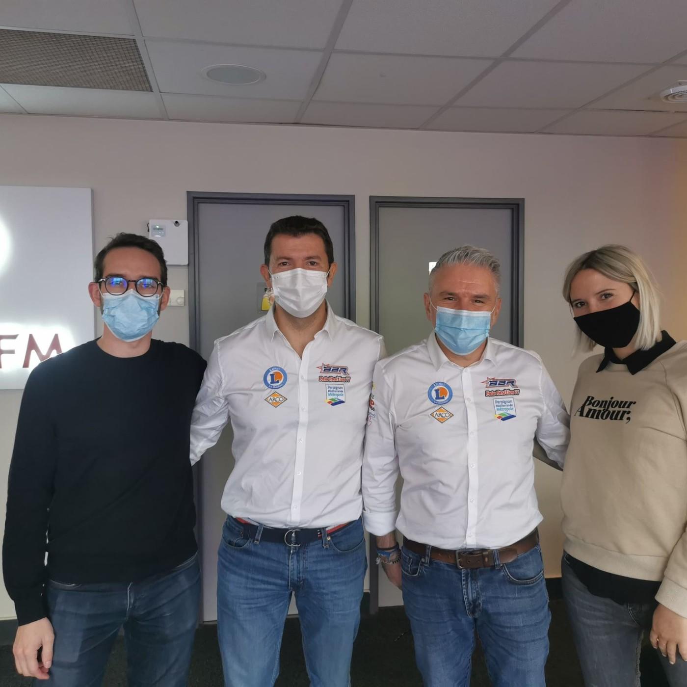 Eric Abel et Christian Manez pilote et co-pilote du rallye Dakar 2021