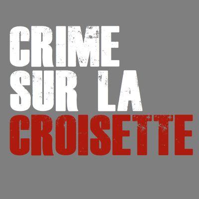 CRIME SUR LA CROISETTE - E4 cover