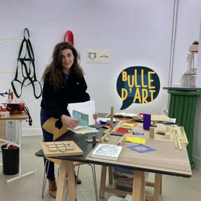 [n°66] Partition, Tinder, jeux et feutres : dans l'atelier de Chloé Serre cover