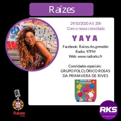 LUSOTIME - Emission du 29/10/2020 avec Yaya e Rosa Da Primavera de Rives cover