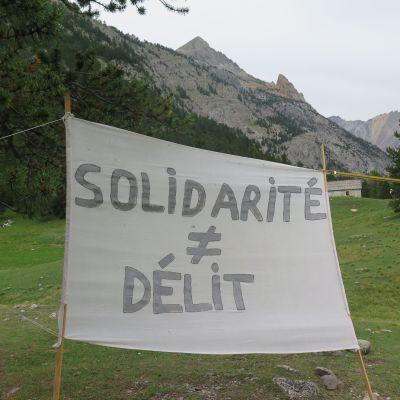 image REPORTAGE - Avec la fanfare Invisible au col de l'Echelle dans les Hautes-Alpes