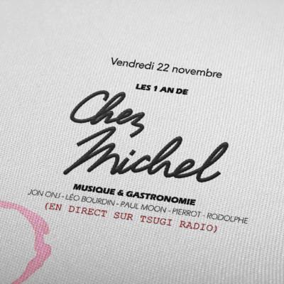 Les 1 an de Chez Michel avec Jon Onj, Léo Bourdin, Paul Moon, Rodolphe Graffin et Pierrot cover