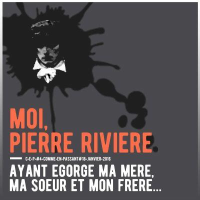 image Moi, Pierre Rivière, ayant égorgé ma mère, ma sœur et mon frère...