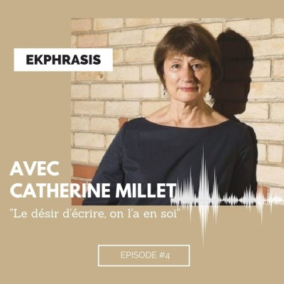 """Catherine Millet : """"Le désir d'écrire, on l'a en soi"""" cover"""