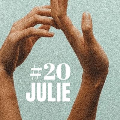 EP20- JULIE Dominé par le plaisir cover
