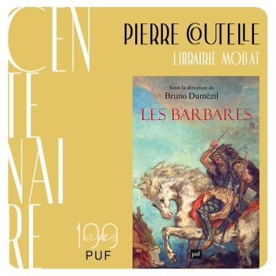 """Pierre Coutelle présente """"Les Barbares"""" de Bruno Dumézil cover"""