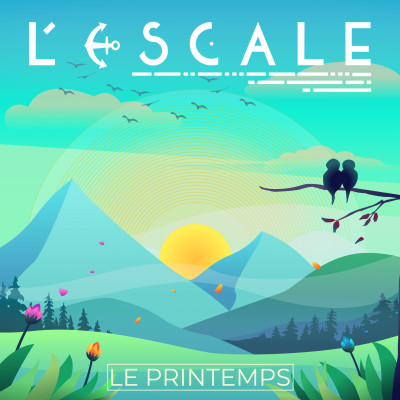 L'Escale #10 - Le Printemps cover