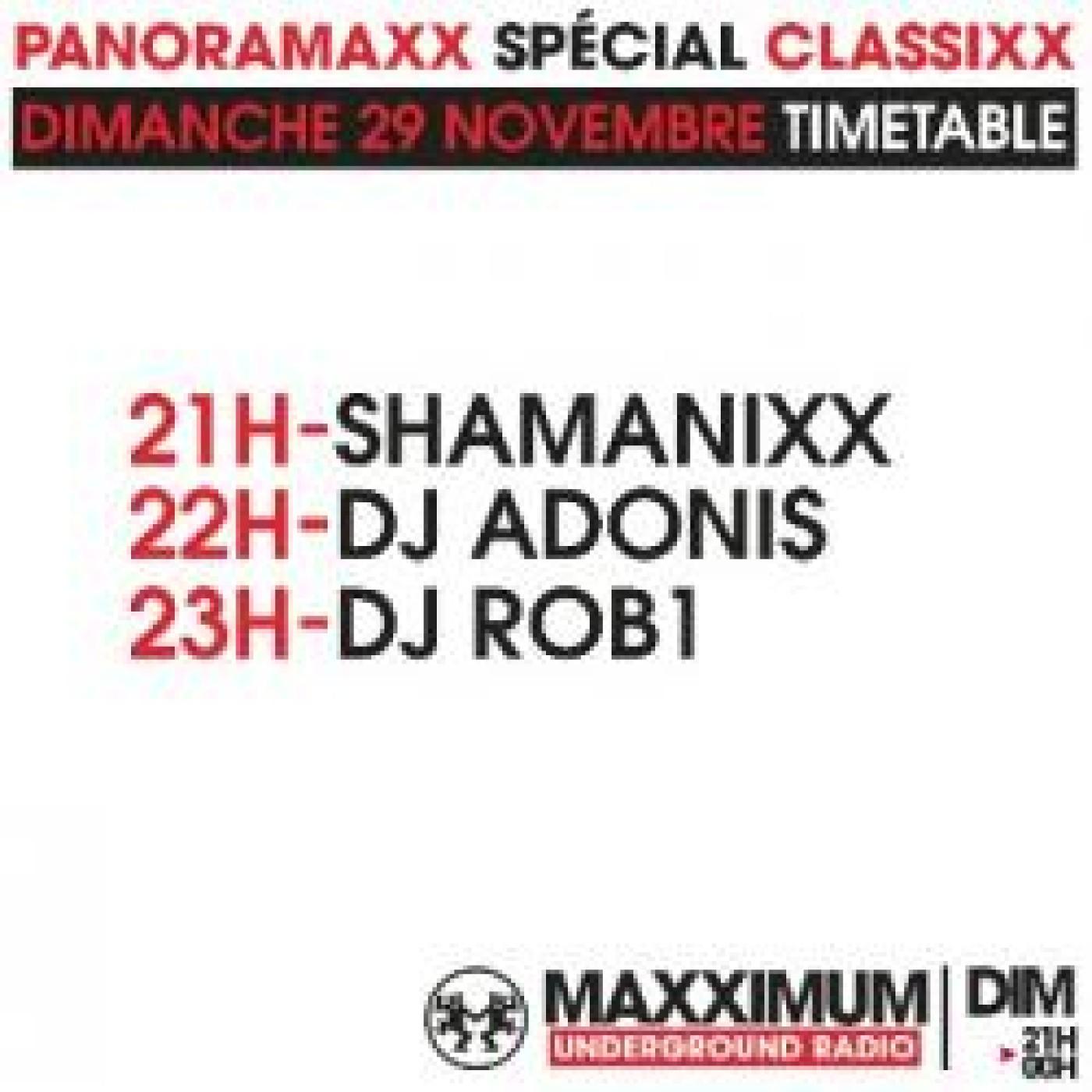 PANORAMAXX CLASSIXX : DJ ROB1