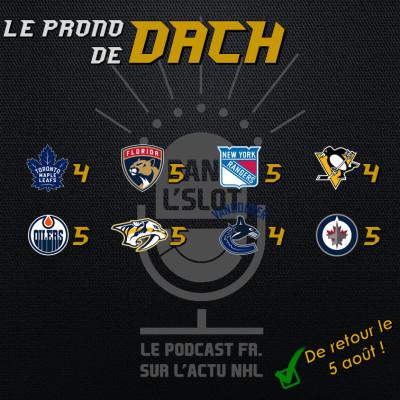 Playoffs NHL 2020 - Les pronos de Dach (Tour de qualification) cover