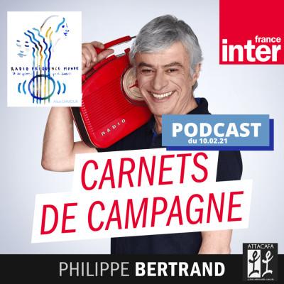 Emilie Da Lage sur FRANCE INTER - Carnets de campagne // RADIO FREQUENCE MONDE cover
