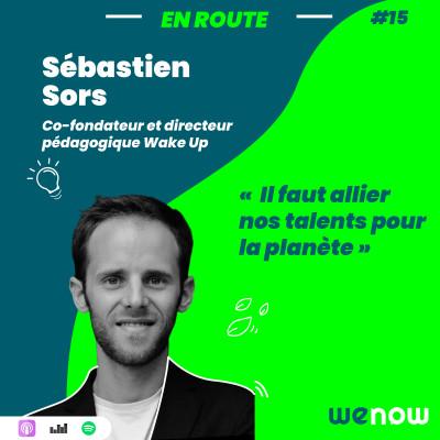 « Il faut allier nos talents pour la planète » avec Sébastien Sors cover