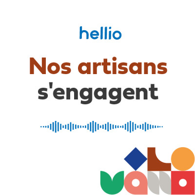 Nos artisans s'engagent par Hellio cover