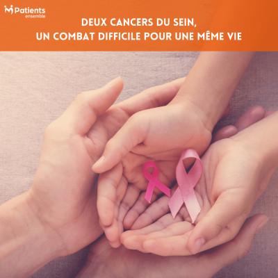 PODCAST 98 - Deux cancers du sein, un combat difficile pour une même vie cover