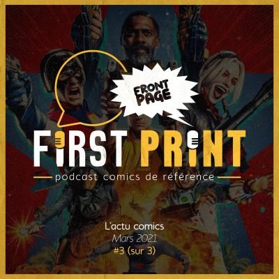 Front Page : l'actualité comics de mars 2021 #3 (sur 3) ! cover