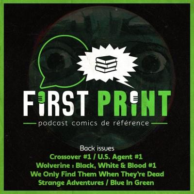 Allez, on lit Crossover, Blue In Green, Strange Adventures et plein d'autres comics ! [Back Issues VO] cover