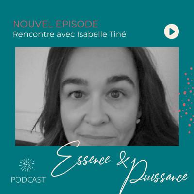 Spécial Journée des Droits de la Femme - Rencontre avec Isabelle Tiné cover
