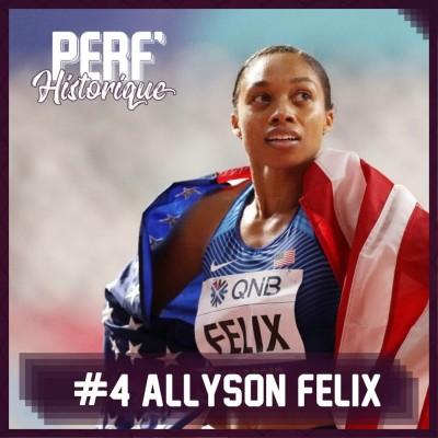 #4 Allyson Felix
