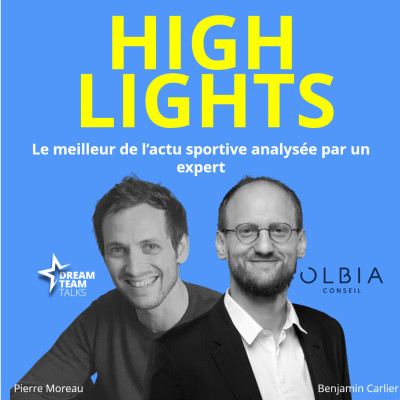 HIGHLIGHTS #12 LE MEILLEUR DE L'ACTUALITE SPORTIVE avec BENJAMIN CARLIER cover