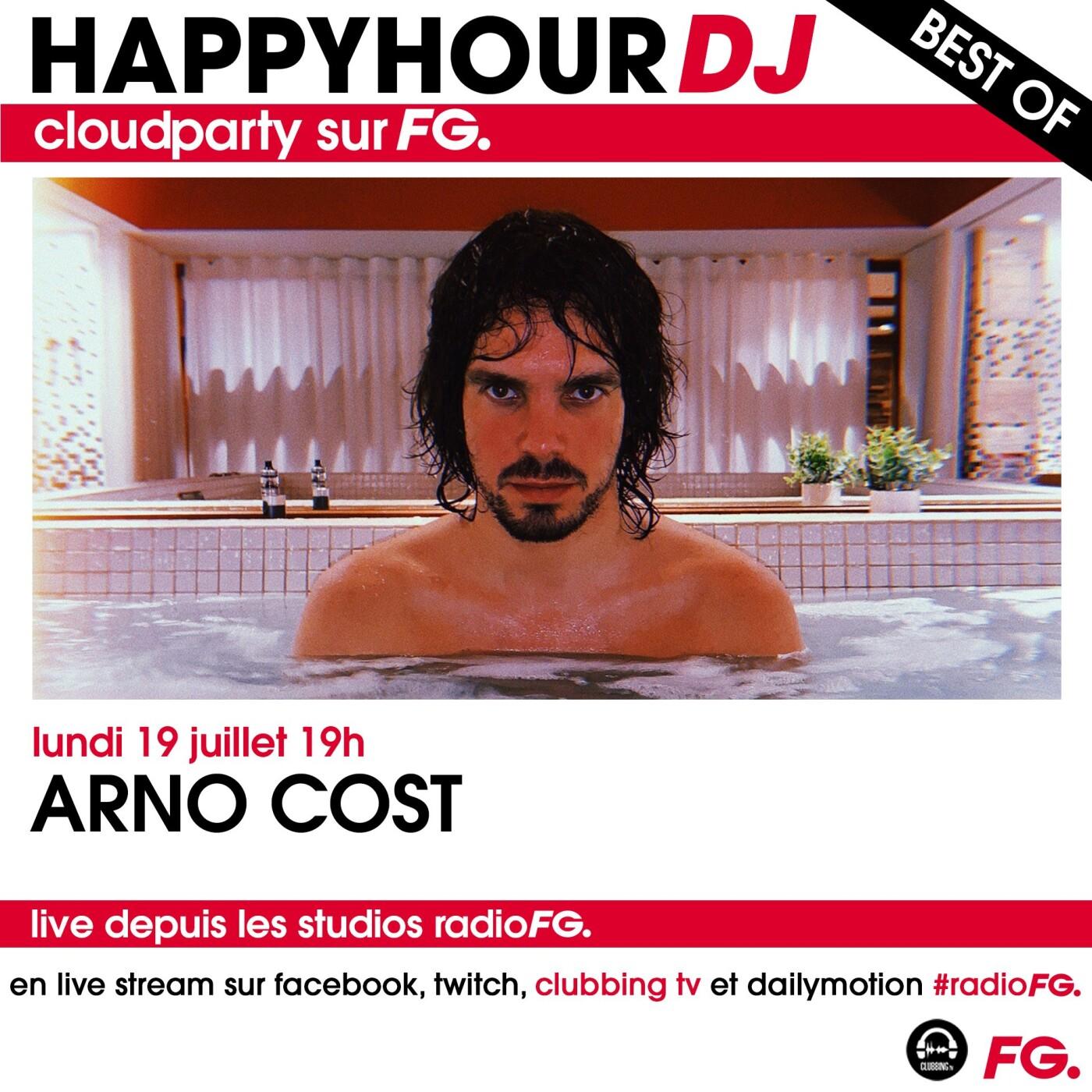 HAPPY HOUR DJ BEST OF : ARNO COST