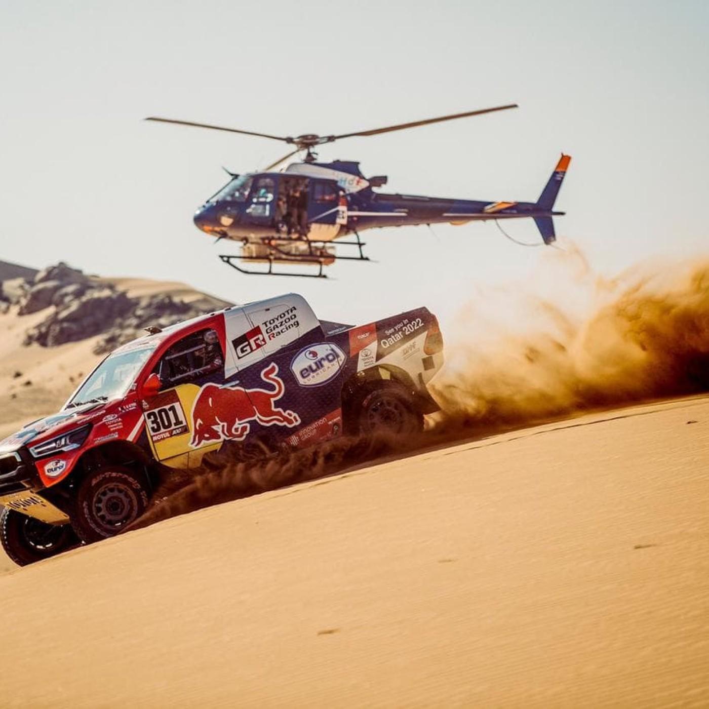 Franck bosse au Safety Center du Dakar - 12 01 2021 - StereoChic Radio
