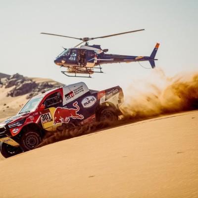 Franck bosse au Safety Center du Dakar - 12 01 2021 - StereoChic Radio cover